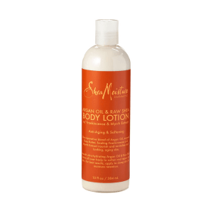 shea moisture argan oil & raw sheabutter body lotion