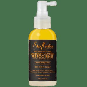 shea moisture african black soapdandruff control pre-poo rinse