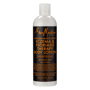 shea moisture african black soapeczema psoriasis therapy body lotion