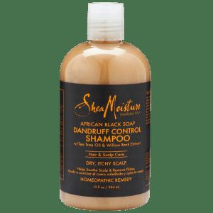 shea moisture african black soap dandruff control shampoo