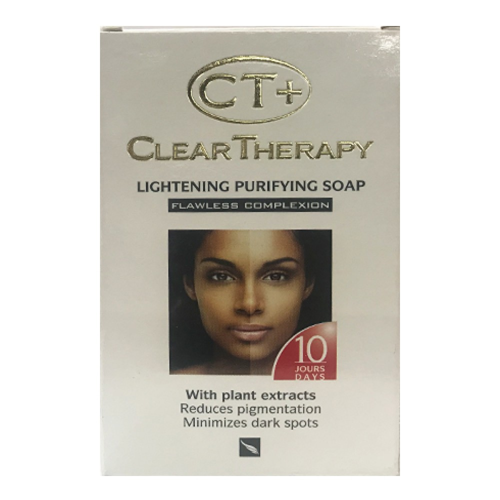 Ct Plus Clear Therapy Lightening Purifying Soap 175 G