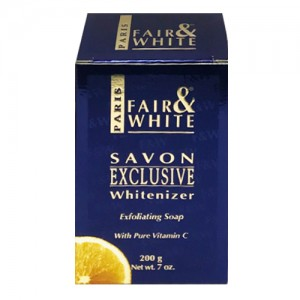 Fair And White Exclusive Exfoliating Soap With Pure Vitamin C 200 G