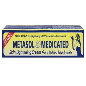Metasol Medicated Skin Lightening Cream Tub 50 G