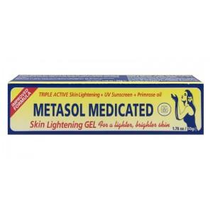 Metasol Medicated Skin Lightening Gel Tub 50 G