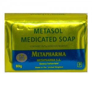 Metasol Medicated Skin Lightening Soap 80 G