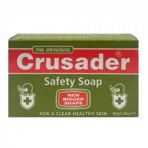 Crusader Skin Safety Soap 80 G