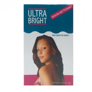 Ultra Bright Skin Cleansing Bar Soap 80 G