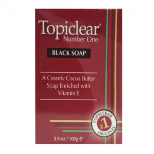 Topiclear Number One Black Soap 100 G