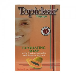 Topiclear Papaya Complexion Soap 200 G