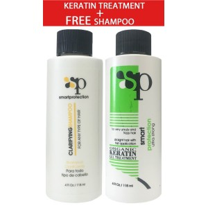 Sp Smart Protection Ultra Strong Organic Keratin Gel Treatment 4 Oz