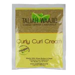 Taliah Waajid Curls Waves Natural Hair Curly Curl Cream 2 Oz
