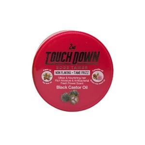 Touch Down 2nd Edge Tamer Black Castor Oil 2.28 Oz