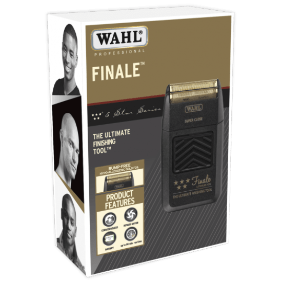 Wahl Professional 5 Star Shaver Finale Finishing Tool Black