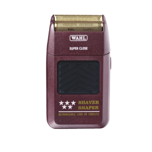 Wahl 5-star Shaver Shaper Red Cordless Bump Free Gold Foil 785805