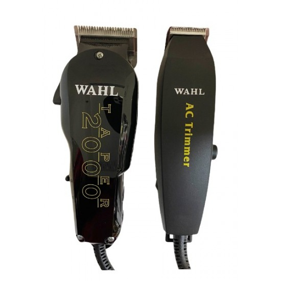 Wahl Professional 5 Star Hair Clipper Trimmer Taper 2000 Ac Trimmer Essentials Combo