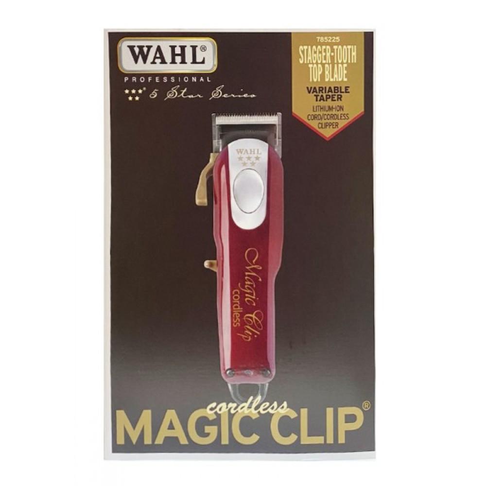 Wahl Professional 5 Star Hair Clipper Cordless Magic Clip