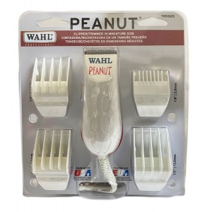 Wahl Peanut Professional Hair Clipper Trimmer White 785685