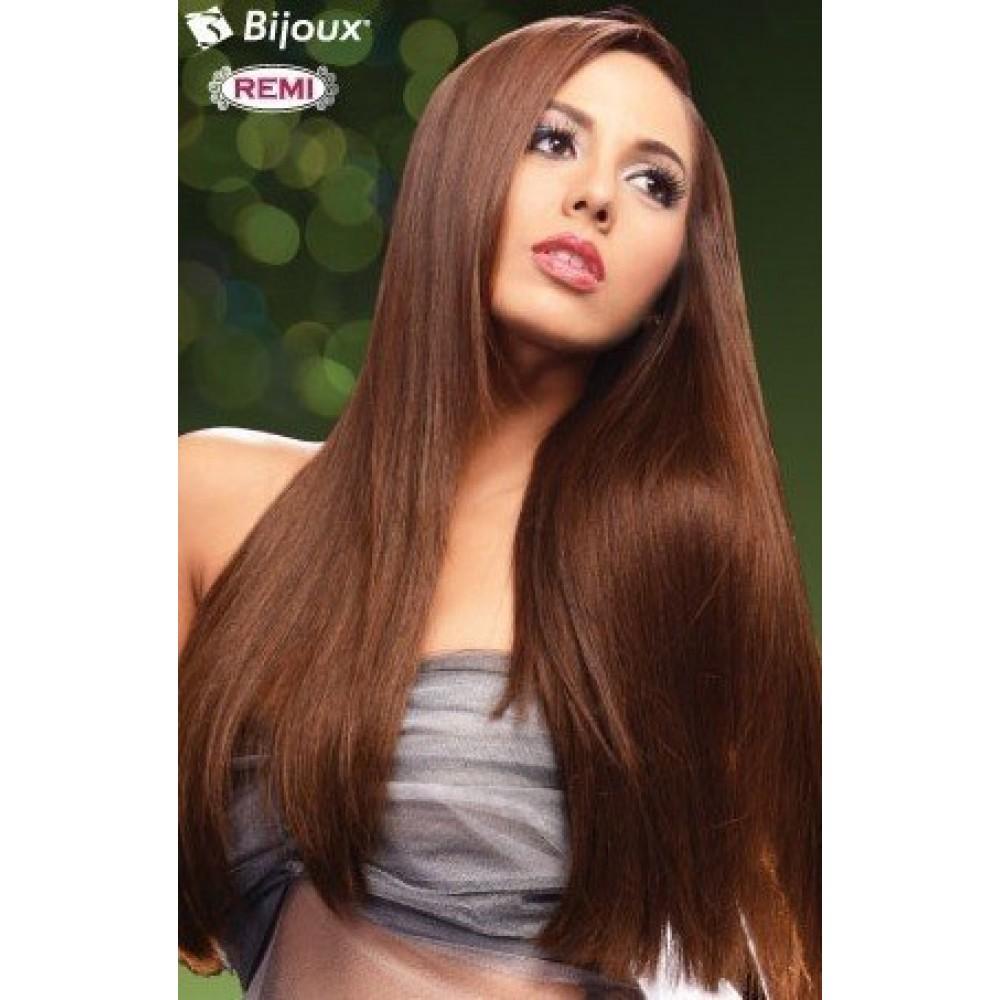 bijoux beauty element solo remi natural yaki straight 100% remi human hair weave