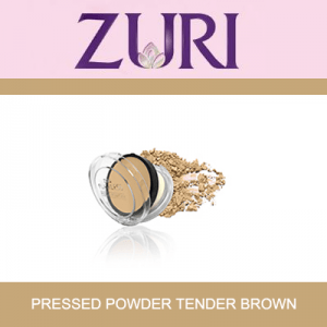 Zuri Pressed Powder Tender Brown