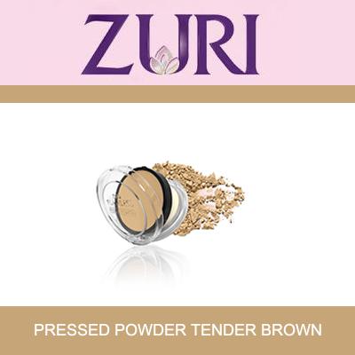 Zuri Pressed Powder Tender Brown