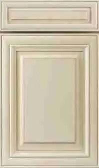 J&K Cabinetry Creme Glazed