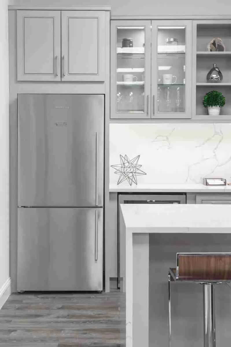 J&K Cabinetry Greige Kitchen Design