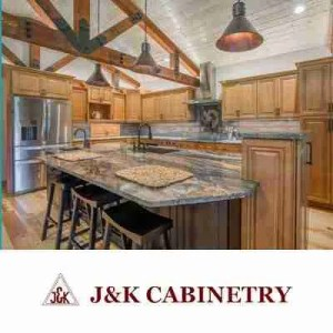J & K Cabinetry Logo With İmage