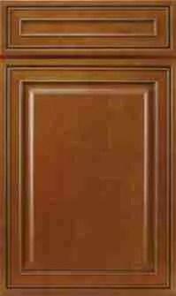 J&K Cabinetry Mocha Glazed