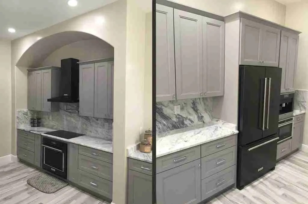 21st Century Cabinetry Sterling in Kitchen