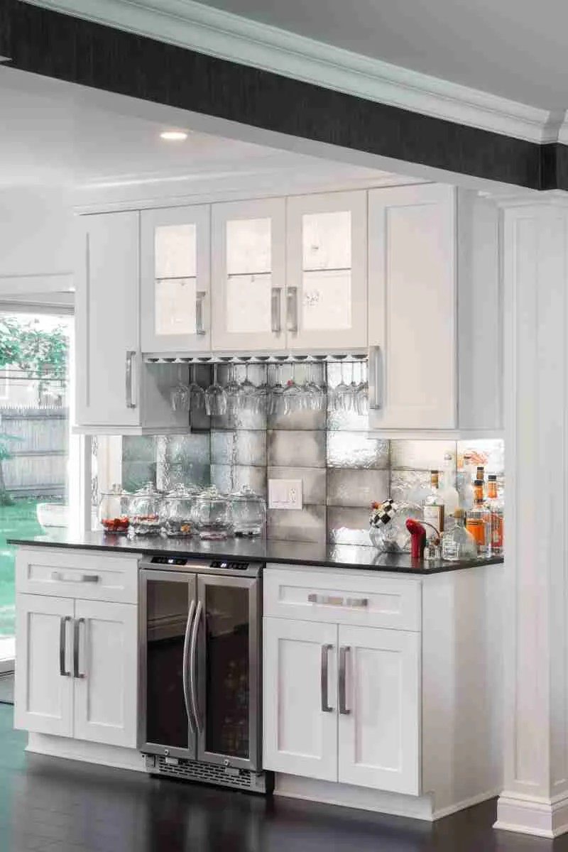 J&K Cabinetry White Kitchen Minimal