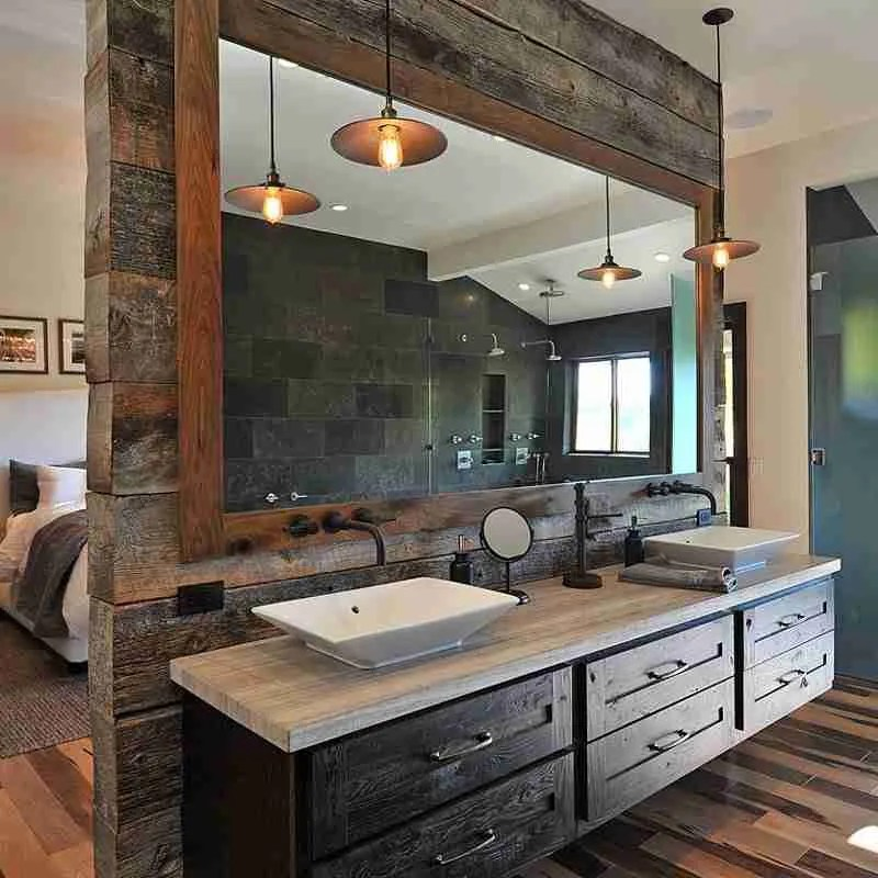 Woodland Cabinetry Farm Stead Bathroom