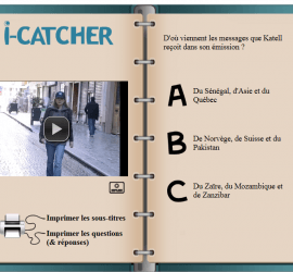 i catcher video frances