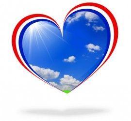 FR icono francia corazon