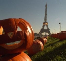 festejar halloween en frances