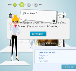 juegos en francés para principiantes de TV5