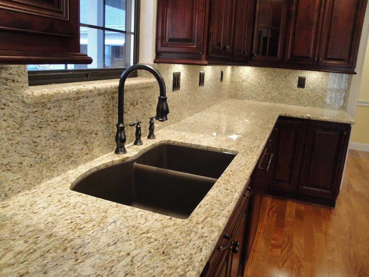 Granite Kitchen Countertop Gallery Granite Slabs O Fallon MO White  Ornamental