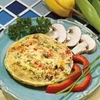 Cheesy Egg w/ Vegetables