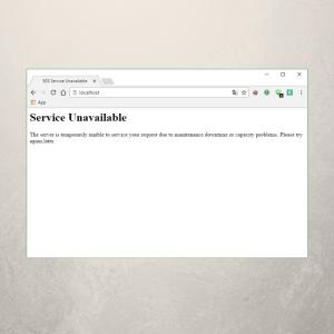 503 Dienst nicht verfügbar - 503 Service Unavailable