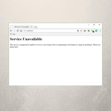 Say It in German: 503 Service Unavailable