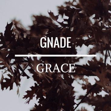 Grace – Ephesians 2:8-9