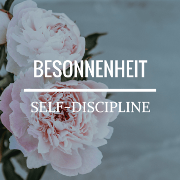 Self-Discipline – 2 Timothy 1:7