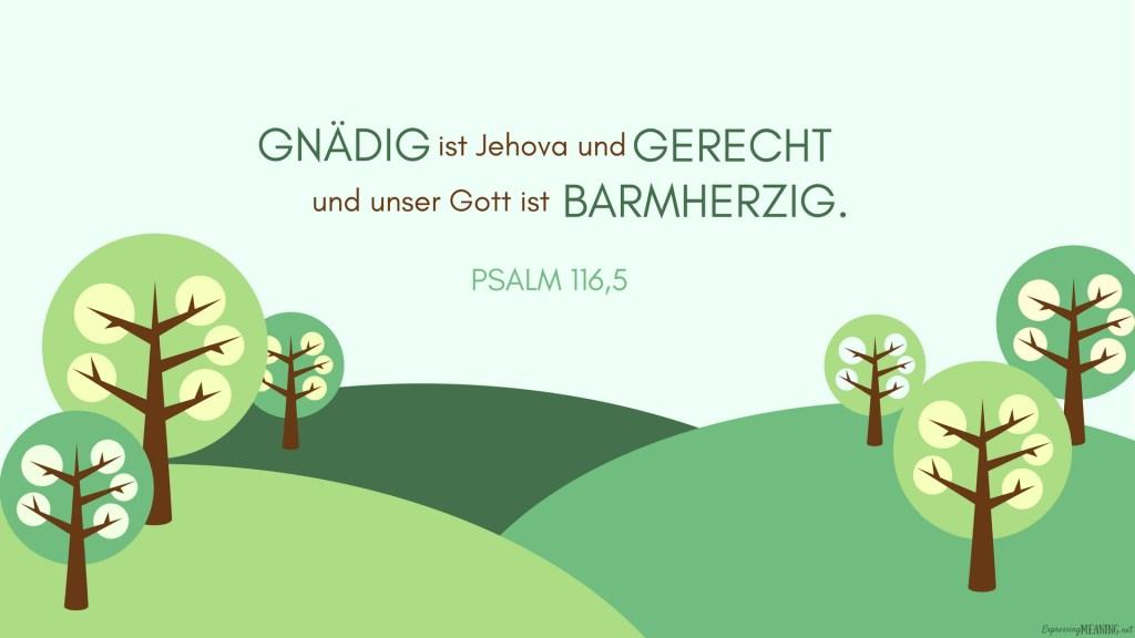 Psalms 116:5