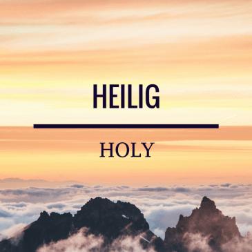 Holy – Isaiah 6:3