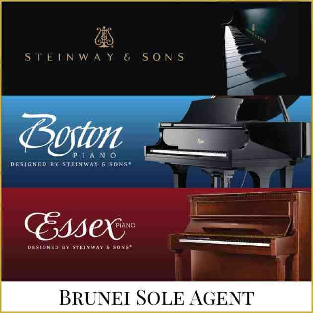 Steinway & Sons Pianos. Available at our branches