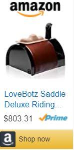 sex toy saddle