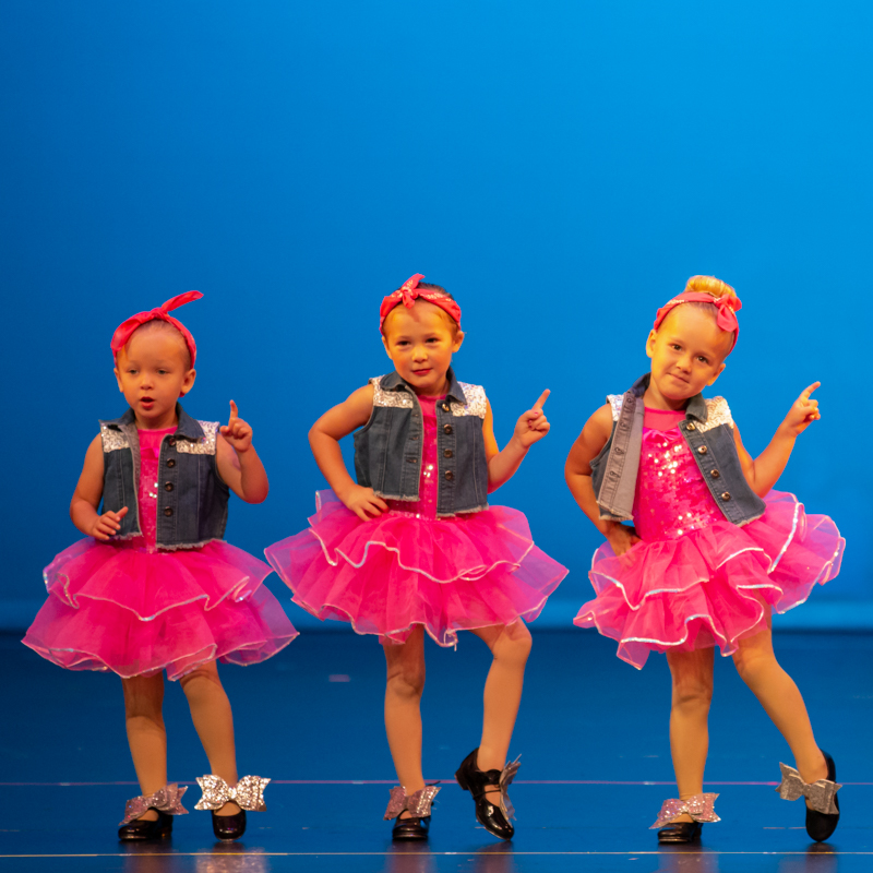 Twirling Tots & Tiny Tappers Saturday 10:00-11:00am Image
