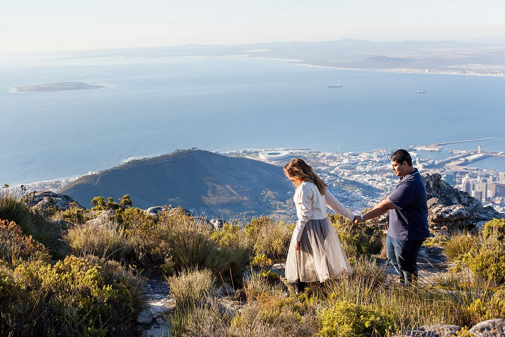 Table Mountain Proposal Shoot Expressions Photography 010