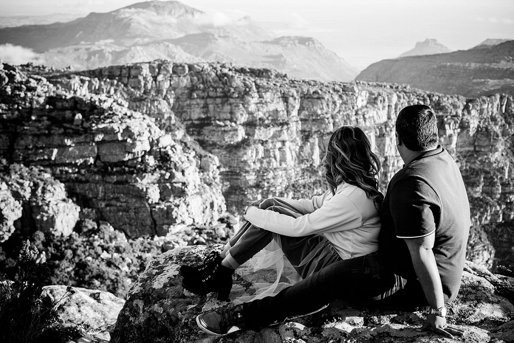 Table Mountain Proposal Shoot Expressions Photography 027