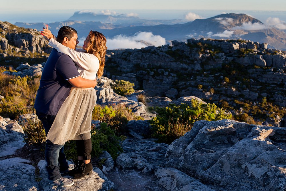 Table Mountain Proposal Shoot Expressions Photography 043