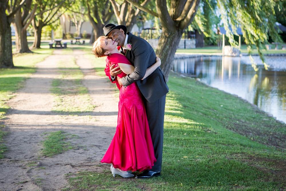 New Zealand dance champions wedding